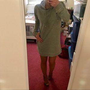 Dresses & Skirts - Like New! Disressed Sweatshirt Dress